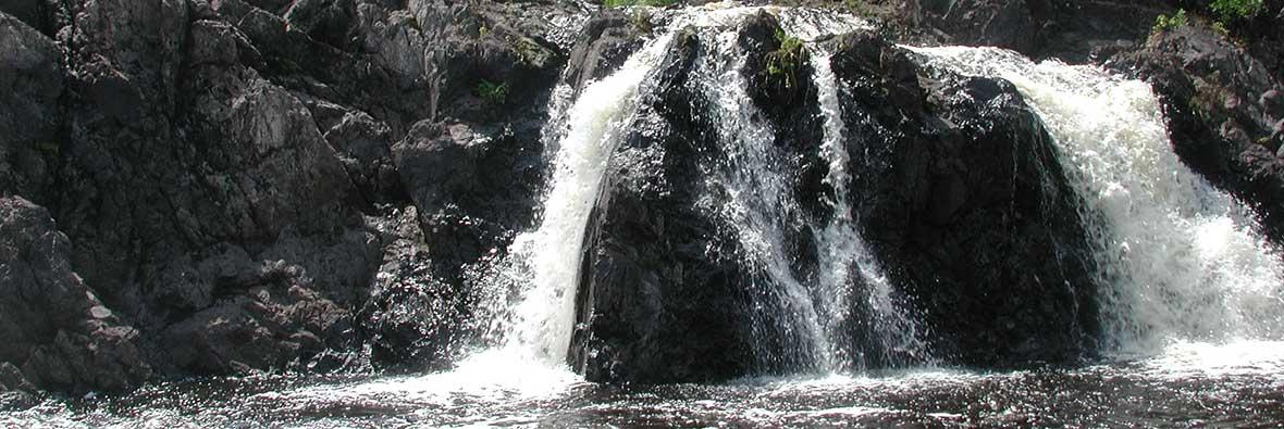 Kawishawi Falls, Ely, MN