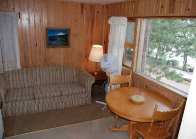 Pine Point Lodge Cabin 7 LR
