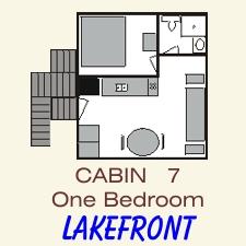 Pine Point Lodge Cabin 7