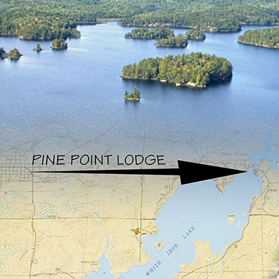 Pine Point Lodge map